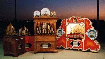 player piano, calliope, nickelodeon, carousel organ, pianola